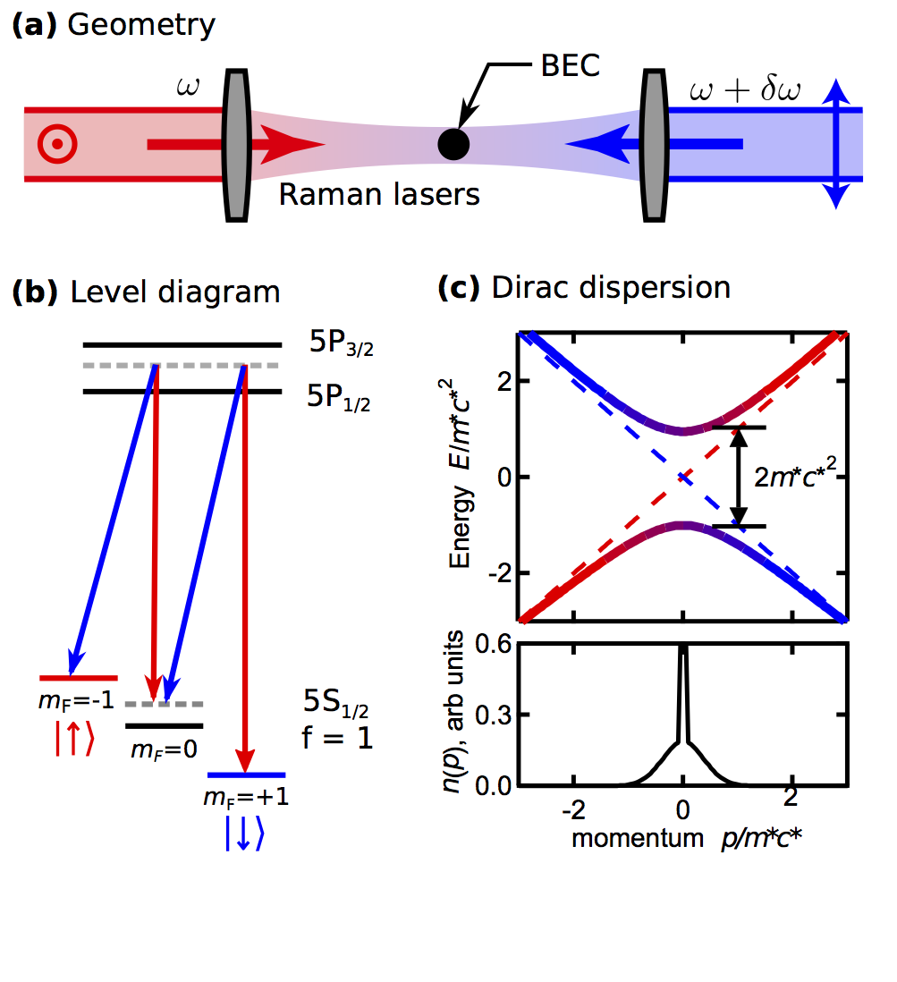 Direct observation of zitterbewegung in a Bose–Einstein condensate